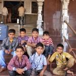Дети в Мурудешваре