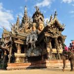 Храм истины в Паттайе, Тайланд (1)