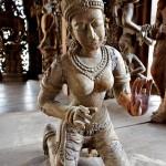 Храм истины в Паттайе, Тайланд (10)
