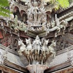 Храм истины в Паттайе, Тайланд (13)