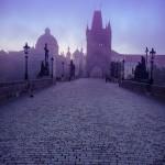 Карлов мост утром