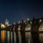 Ночной Карлов мост