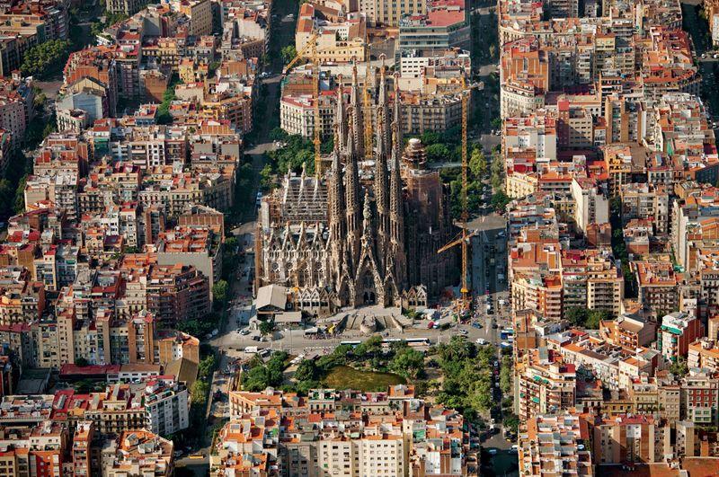 7-Храм Саграда Фамилия в Барселоне