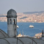 Вид на Босфор.из Сулеймании