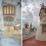 20-Дом Бальо в Барселоне. На крыше