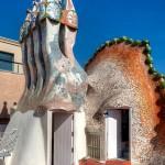 21-Дом Бальо в Барселоне. Трубы на крыше