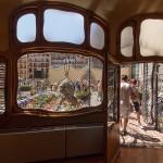 27-Дом Бальо в Барселоне. Выход во двор