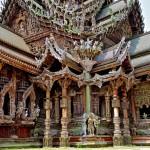 Храм истины в Паттайе, Тайланд (12)