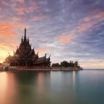 Храм истины в Паттайе, Тайланд (14)