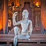 Храм истины в Паттайе, Тайланд (17)
