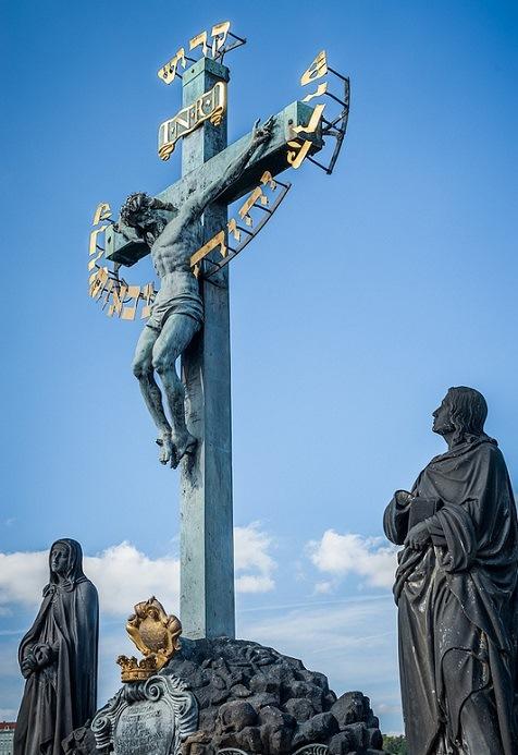 Иисус Христос на кресте. Карлов мост