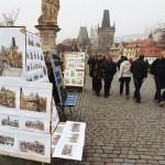 Картины на Карловом мосту