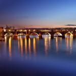 Ночной вид на Карлов мост