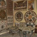В Мастерской Мозаичника