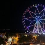 Вид с верхушки Эйша Молл на ночную бухту Манилы (Копировать)