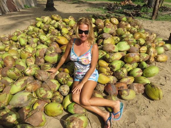 кокосы - главное богатство страны, это и еда, и вода, и косметик, и одежда, и веревки, и топливо (Копировать)
