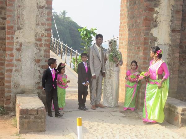 Свадьбы на Шри Ланке проходят довольно часто